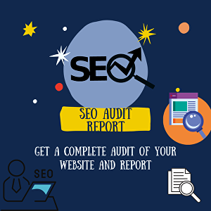 I will audit your website and provide SEO report