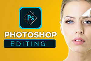 I will do photoshop editing ,Background removing , color change and retouching service