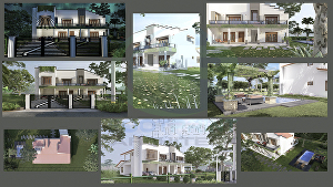 I will do 3D Modelling & Exterior Photorealistic Rendering