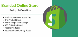 I will make an eye-catchy Shopify eCommerce site
