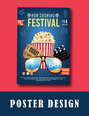 I will design event, promotional Poster and flyer design