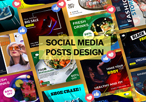 I will design attractive social media post, ad for facebook and instagram