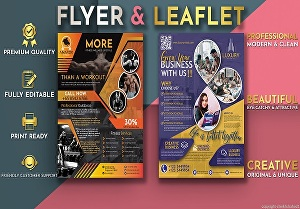 I will design professional flyer and leaflet