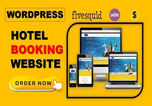 I will create hotel booking website