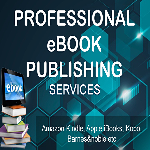 I will do ebook design  formatting and paperback publishing on amazon kindle and 5 other book sto