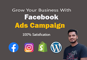 I will create and manage facebook ads campaign
