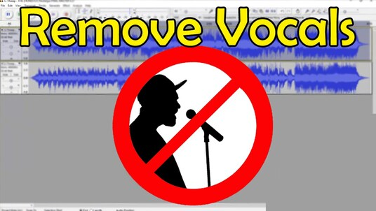 remove vocals or music from a track or song