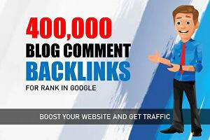 I will provide blog comments high-quality backlinks