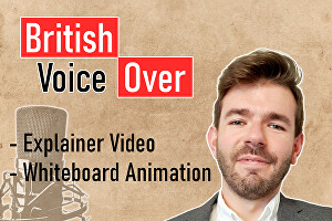 I will record a professional Voice Over Narration for your Explainer Video or Whiteboard Animatio