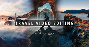I will do travel video editing cinematically