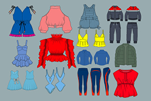 I will create complete fashion tech pack designs