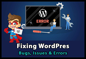I will fix WordPress website errors and issues in 24 hours