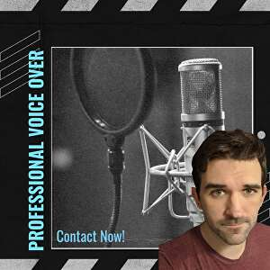 I will record professional, American Voice Over with a casual/conversational tone