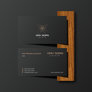 I will design elegant double sided business card print ready files