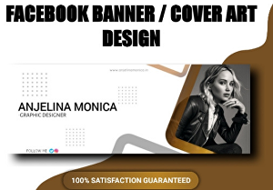 I will design professional Facebook cover banner