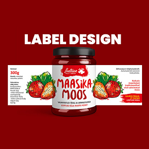 I will do your product packaging and label design