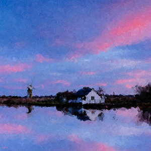 I will draw realistic beautiful impressionist painting from photo