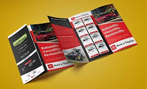 I will design professional Brochure, Flyer or Poster for commercial use