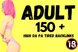 I will boost your adult website for google top ranking with manual high authority backlink