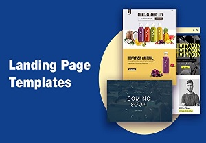 I will Design Attractive Landing Page For Your Website