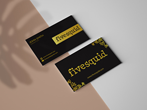 I will Design Minimalist Stunning Business Card in 24 Hours