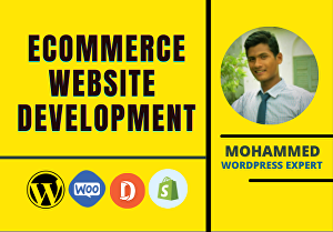 I will develop a professional eCommerce website
