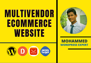 I will develop multivendor eCommerce marketplace, Online store by woocommerce