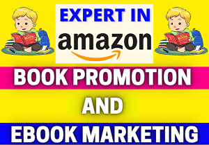 I will do amazon book promotion