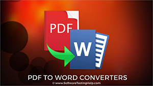 I will covert pdf to world & exel