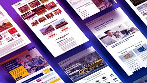 I will design and develop a landing page for your company or personal portfolio with hosting