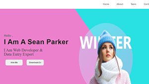 I will Convert Your Design Into Html User Form Landing Page And Website Template
