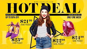 I will create short video ads for your fashion big sale video  and promo or fashion promo