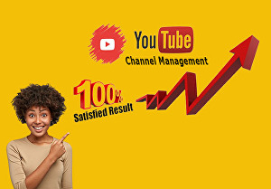 I will Create, Set up, and Customize SEO friendly Youtube channel