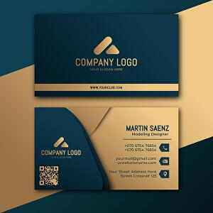 I will Make  Professional  business card , stunning business card and minimal business card