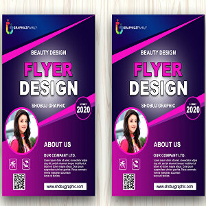 I will Create professional Flyer and poster design