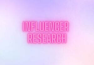 I will do profitable influencer research for you