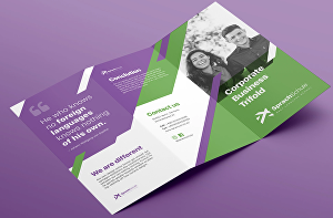 I will design a leaflet or flyer for your business