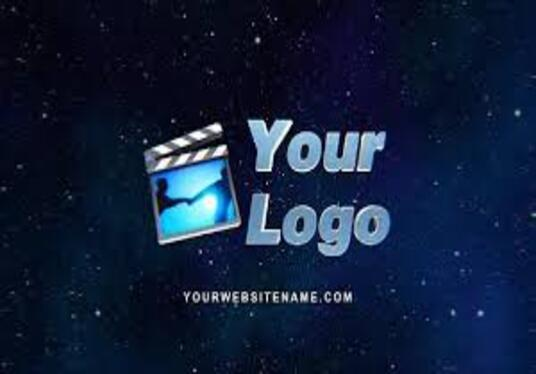 make a custom logo animation and intro and outro