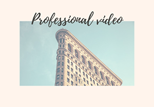 I will Design professional animated video