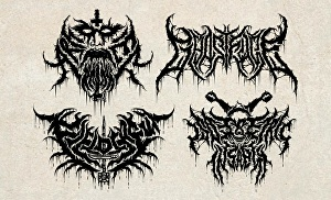 I will Design Death Metal Logo for your Band