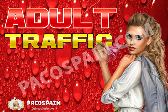 send from 9 sources amazing ADULT traffic to your site - 30,000+