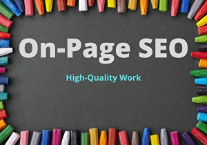 I will do on page seo and optimization services