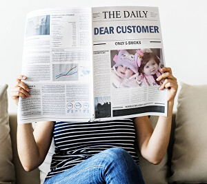 I will Add Your Message And Photo In This Newspaper