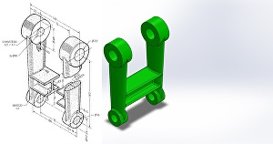 I will do  3D CAD design of  Engineering product in Solidworks  and realistic rendering