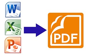 I will Convert  Word , Excel And Power Point To PDF