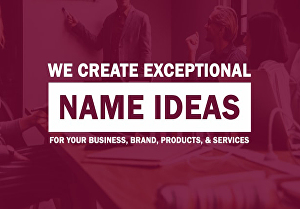 I will create a strong business name with a Domain name
