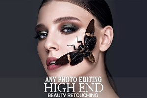 I will do professional Photoshop editing, photo editing or photo retouching face swap