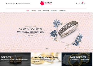I will create an ecommerce website or online store using woocommerce