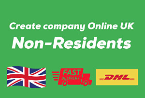 I will register a UK company for a non-resident