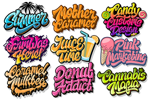 I will do graffiti or lettering typography for your logo or word in my style